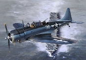 WWII SBD5 USN Bomber Battle of the Philippine Sea