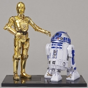 1/12 Star Wars: C3PO & R2D2 Droids Figures (Snap)