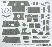 1/35 Sd.Kfz.171 Panther Ausf.D Zimmerit Decal