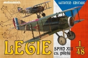Legie Spad XIII cs pilotu BiPlane (Ltd Edition Plastic Kit)