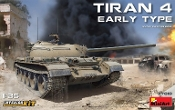 Tiran 4 Early Type Tank w/Full Interior