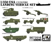 WWII US Landing Vehicle Set (9)