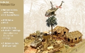 Operation Silver Bayonet Vietnam War Diorama Set