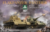 Flakpanzer Panther Tank (2 in 1) (build 20mm Flakvierling MB151/20 or Coelian 37mm Flakzwilling 341)