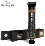Weathering Oil Paint Shadow Brown 20ml Tube