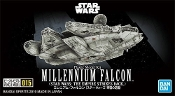 1/350 Star Wars Empire Strikes Back: Millennium Falcon (Snap)