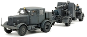 German SS10 Heavy Tractor & 88mm FlaK 37 Gun (2 Kits)
