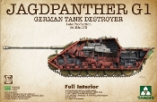 Jagdpanther G1 Late Production SdKfz 173 German Tank Destroyer w/Full Interior
