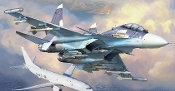Russian SU30SM Air Superiority Fighter