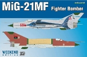 MiG21MF Fighter/Bomber (Wkd Edition Plastic Kit)