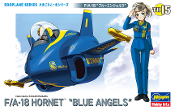 "Egg Plane F/A-18 ""Blue Angels"""