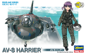 Egg Plane Av-8 Harrier