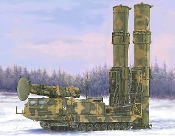 Russian S300V 9A82 Surface-to-Air (SAM) Missile Launcher