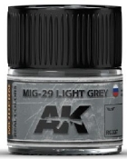 Real Colors: MiG29 Light Grey Acrylic Lacquer Paint 10ml Bottle
