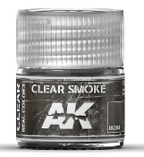 Real Colors: Clear Smoke Acrylic Lacquer Paint 10ml Bottle