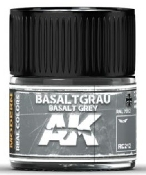 Real Colors: Basalt Grey RAL7012 Acrylic Lacquer Paint 10ml Bottle