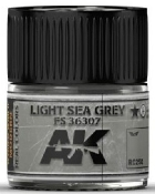 Real Colors: Light Sea Grey FS36307 Acrylic Lacquer Paint 10ml Bottle