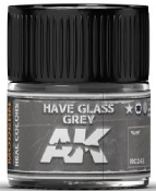 Real Colors: Have Glass Grey Acrylic Lacquer Paint 10ml Bottle