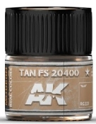 Real Colors: Tan FS20400 Acrylic Lacquer Paint 10ml Bottle