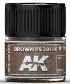 Real Colors: Brown FS30140 Acrylic Lacquer Paint 10ml Bottle