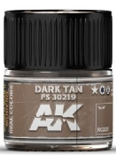Real Colors: Dark Tab FS30219 Acrylic Lacquer Paint 10ml Bottle