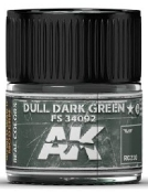 Real Colors: Dull Dark Green FS34092 Acrylic Lacquer Paint 10ml Bottle