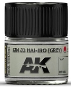 Real Colors: IJN J3 HAI-IRO (Grey) Acrylic Lacquer Paint 10ml Bottle