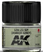 Real Colors: IJN J3 SP (Amber Grey) Acrylic Lacquer Paint 10ml Bottle