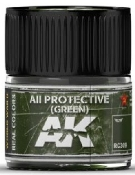 Real Colors: AII Green Acrylic Lacquer Paint 10ml Bottle