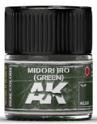 Real Colors: Midori Iro (Green) Acrylic Lacquer Paint 10ml Bottle