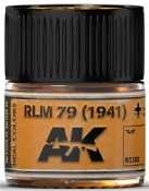 Real Colors: RLM79 (1941) Acrylic Lacquer Paint 10ml Bottle