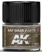 Real Colors: RAF Dark Earth Acrylic Lacquer Paint 10ml Bottle