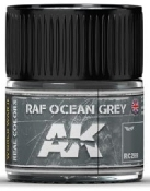 Real Colors: RAF Ocean Grey Acrylic Lacquer Paint 10ml Bottle