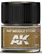 Real Colors: RAF Middle Stone Acrylic Lacquer Paint 10ml Bottle