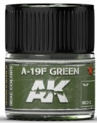 Real Colors: A19F Grass Green Acrylic Lacquer Paint 10ml Bottle