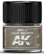Real Colors: AMT1 Light Brown Acrylic Lacquer Paint 10ml Bottle