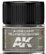 Real Colors: A2M Light Yellowish Brown Acrylic Lacquer Paint 10ml Bottle