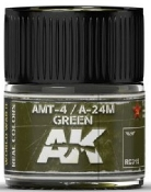 Real Colors: AMT4/A24M Green Acrylic Lacquer Paint 10ml Bottle