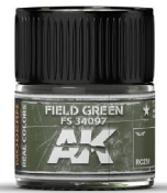 Real Colors: Field Green FS34097 Acrylic Lacquer Paint 10ml Bottle