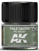 Real Colors: Pale Green FS34227 Acrylic Lacquer Paint 10ml Bottle