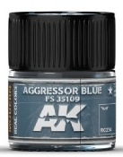Real Colors: Aggressor Blue FS35109 Acrylic Lacquer Paint 10ml Bottle