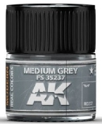 Real Colors: Medium Grey FS35237 Acrylic Lacquer Paint 10ml Bottle