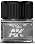 Real Colors: Aggressor Grey FS36251 Acrylic Lacquer Paint 10ml Bottle