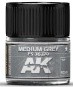 Real Colors: Medium Grey FS36270 Acrylic Lacquer Paint 10ml Bottle