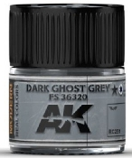 Real Colors: Dark Ghost Grey FS36320 Acrylic Lacquer Paint 10ml Bottle