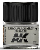 Real Colors: Camouflage Grey FS36622 Acrylic Lacquer Paint 10ml Bottle