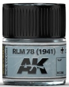 Real Colors: RLM78 (1941) Acrylic Lacquer Paint 10ml Bottle