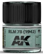 Real Colors: RLM78 (1942) Acrylic Lacquer Paint 10ml Bottle