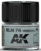 Real Colors: RLM76 Version 2 Acrylic Lacquer Paint 10ml Bottle