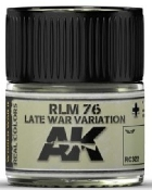 Real Colors: RLM76 Late War Variation Acrylic Lacquer Paint 10ml Bottle